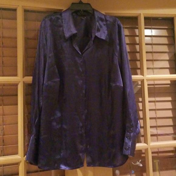 086d4c992db Lane Bryant Tops - Lane Bryant purple blouse size 14 16